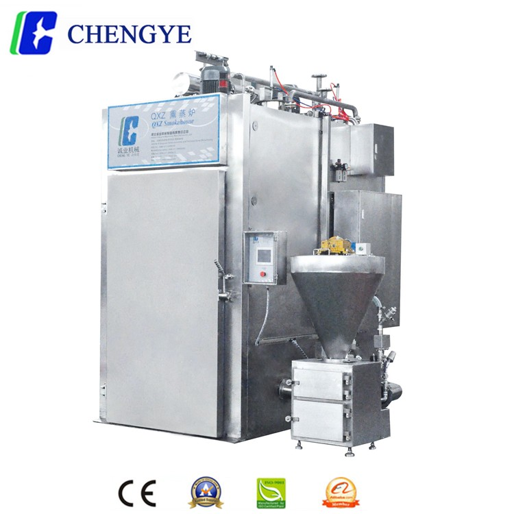 High quality meat processing equipment function of smoke house