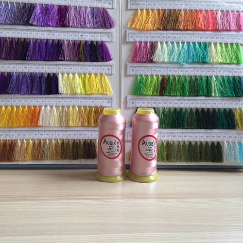 polyester and rayon thread