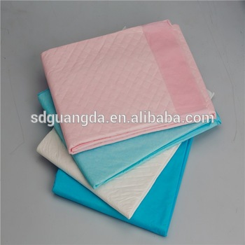 hygienic underpads ,bed urine non slip antibacterial underpad