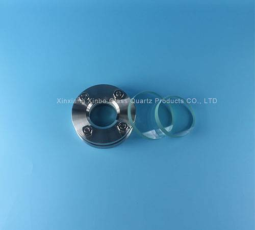 Fire-polished grinding round valve ss304 Glass lenses