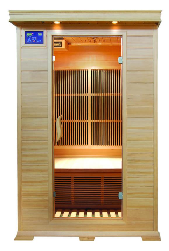 2 person FIR sauna room