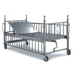 single manual crank baby bed