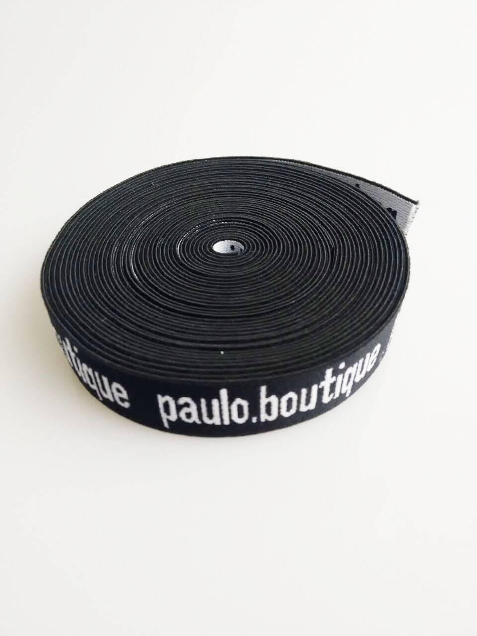 Jacquard elastic waitband
