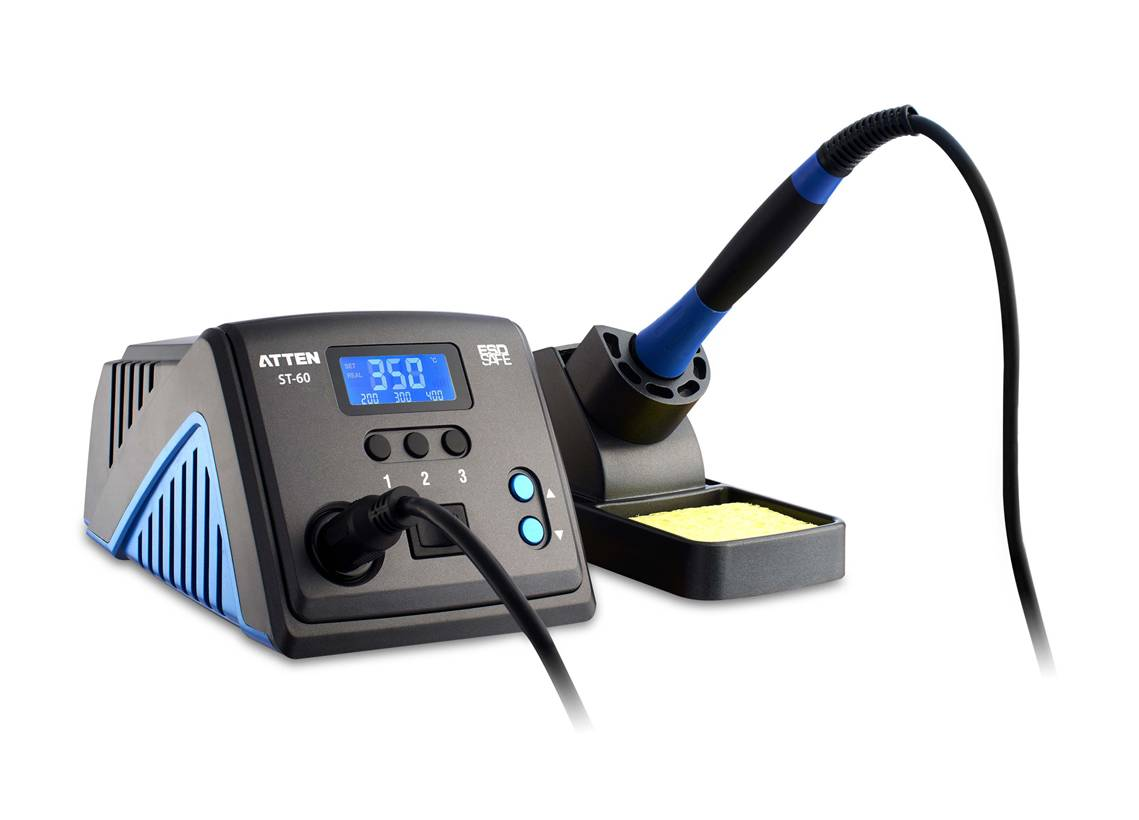Lead-Free ESD Electric Digital Soldering Station with Soldering Iron (ST-60)