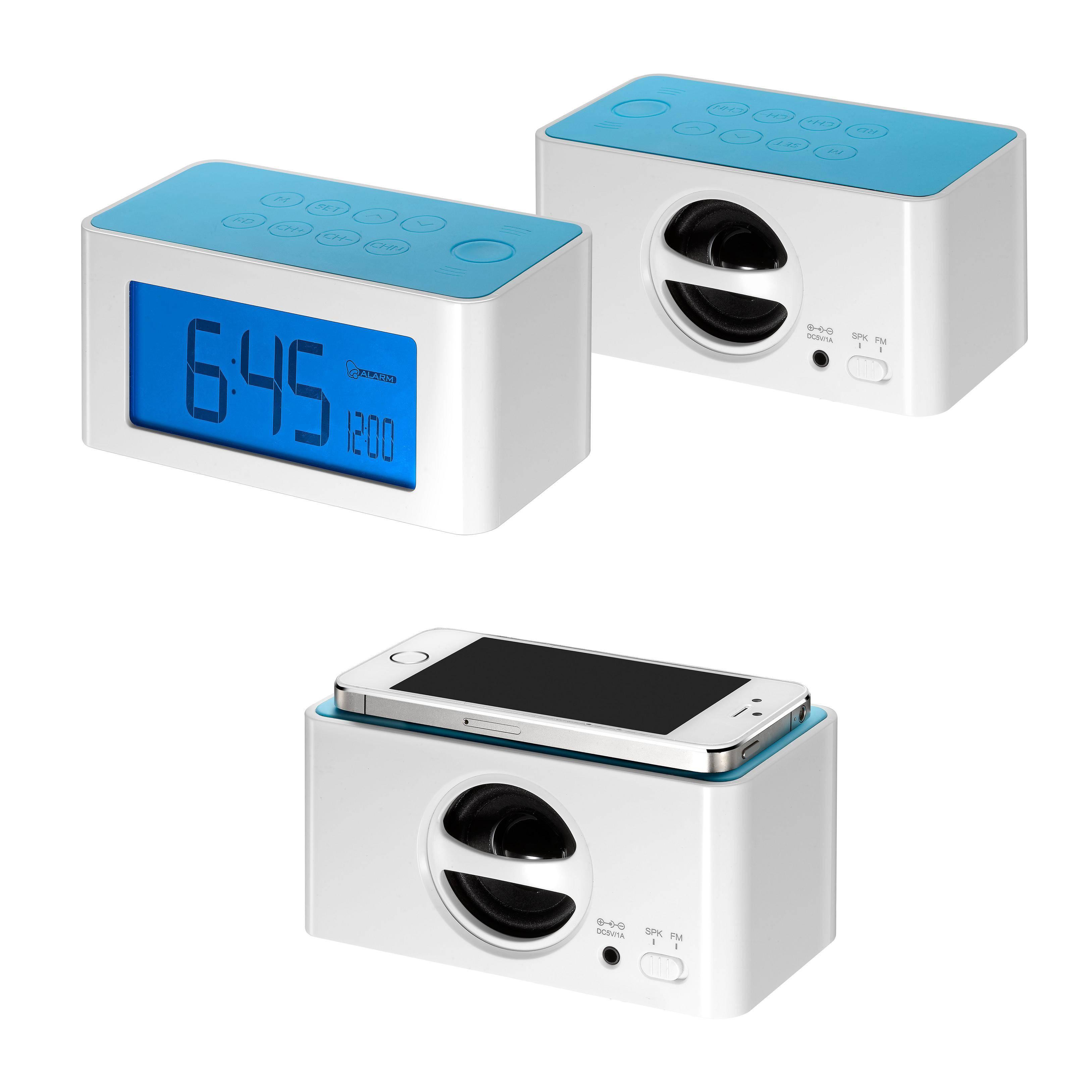 radio with speaker and clock DX-3320