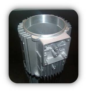 motor casing of die casting part