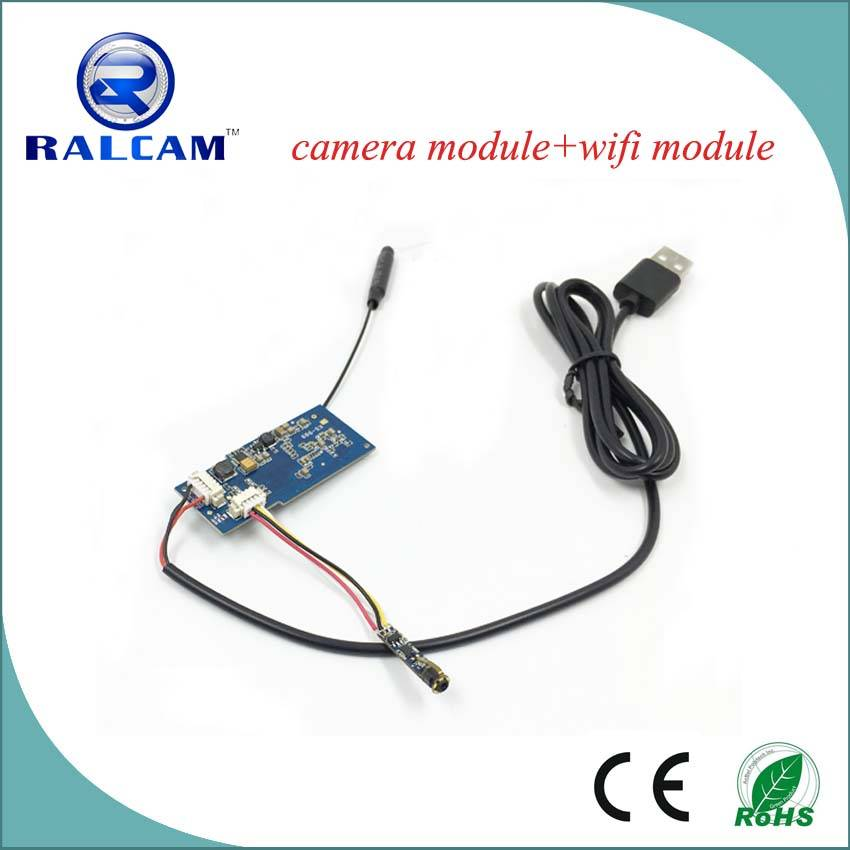 80 degree FOV 7mm~35mm Focus Distance 4.5mm wifi camera module for android and iphone
