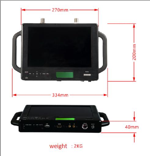 Hand-held Mobile Video Receiver,UAV Wireless Image Receiver,Mobile Video Receiver
