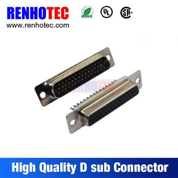 PC Accessories-Dip Solder 2-PACK Straight Male and Female 9 15 25 Pin D-Sub Connector