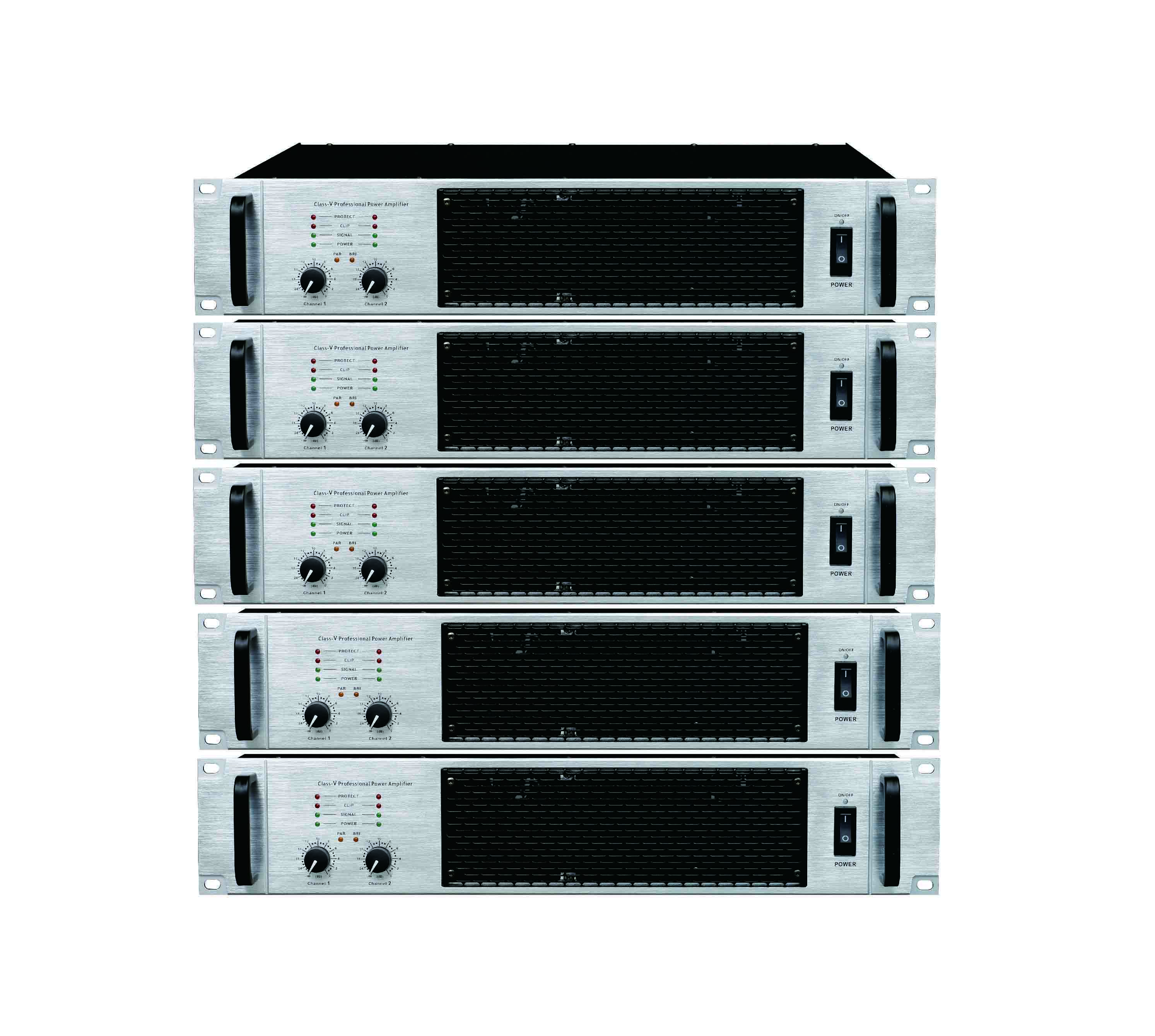 new generation of class TD 2 channel professional power amplifier new design