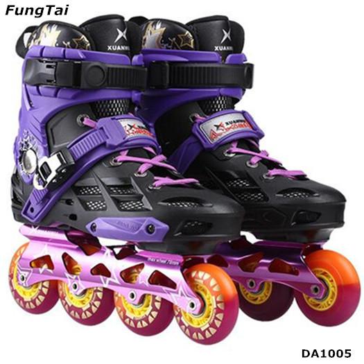 Roller Inline Skate Shoes 4 Wheels Men Women Patins Shoes (DA1005)