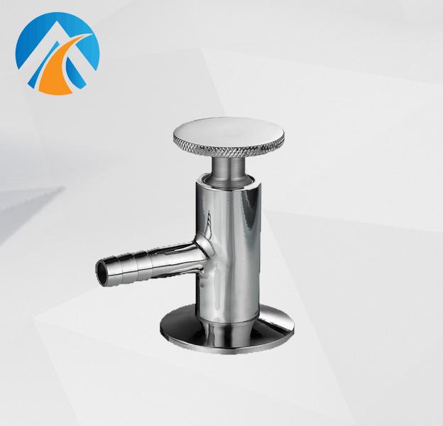 Sanitary stainless steel sampling valve