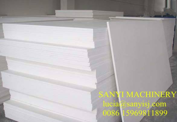 SGS & CE Certified PVC Celuka Foam Board Machine for Furniture