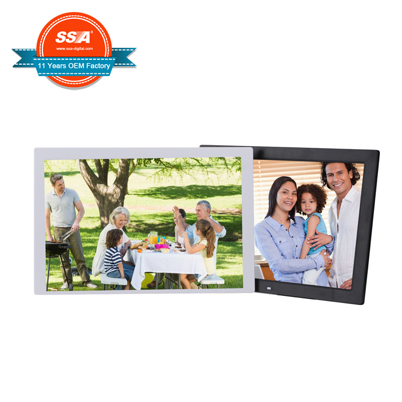 Full Hd 1080p 17 Inch Digital Photo Frame For Commercial Advertising