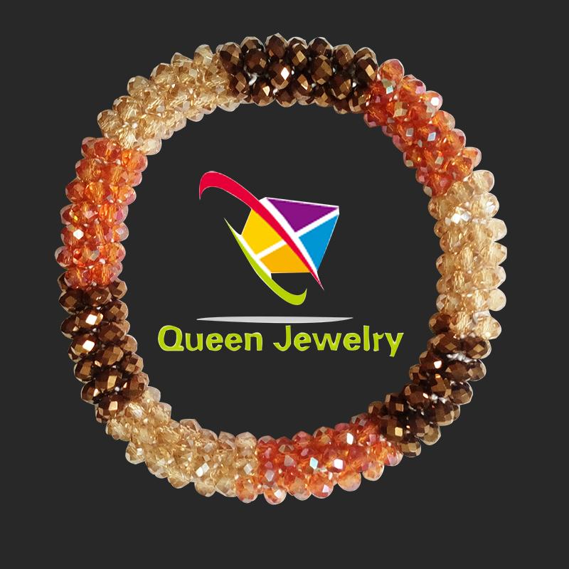 Luxury High Quality Jewelry Woman Latest Fashion Wedding Bridal red tourmaline Zircon bracelet