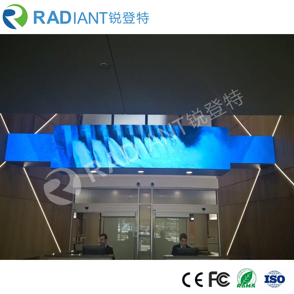 P2.5 indoor small pitch curtain led display flexible led screen
