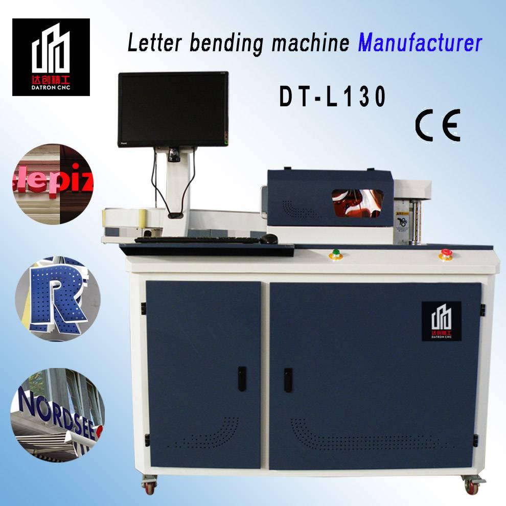 CNC channel letter bending machine