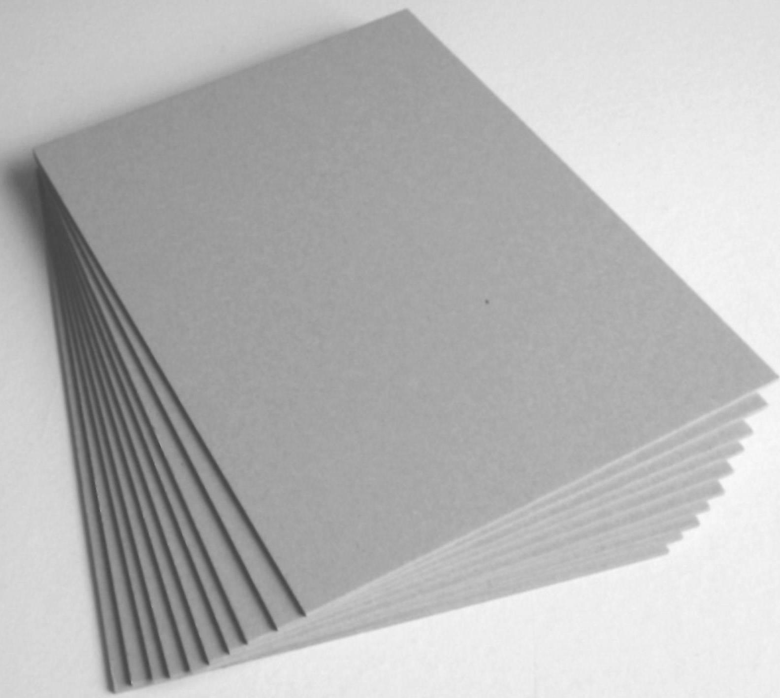 sinzoopaper hot selling waste paper pulp laminated gray cardboard sheet