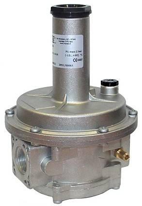 industrial gas pressure closing regulator valve for boiler parts