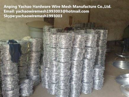 galvanized barbed wire for sale, barbed wire manufacturers china,galvanized and pvc barbed wire