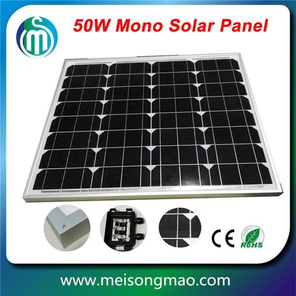 Bulk buy from China small solar panel 50W high efficiency monocrystalline solar module 50W