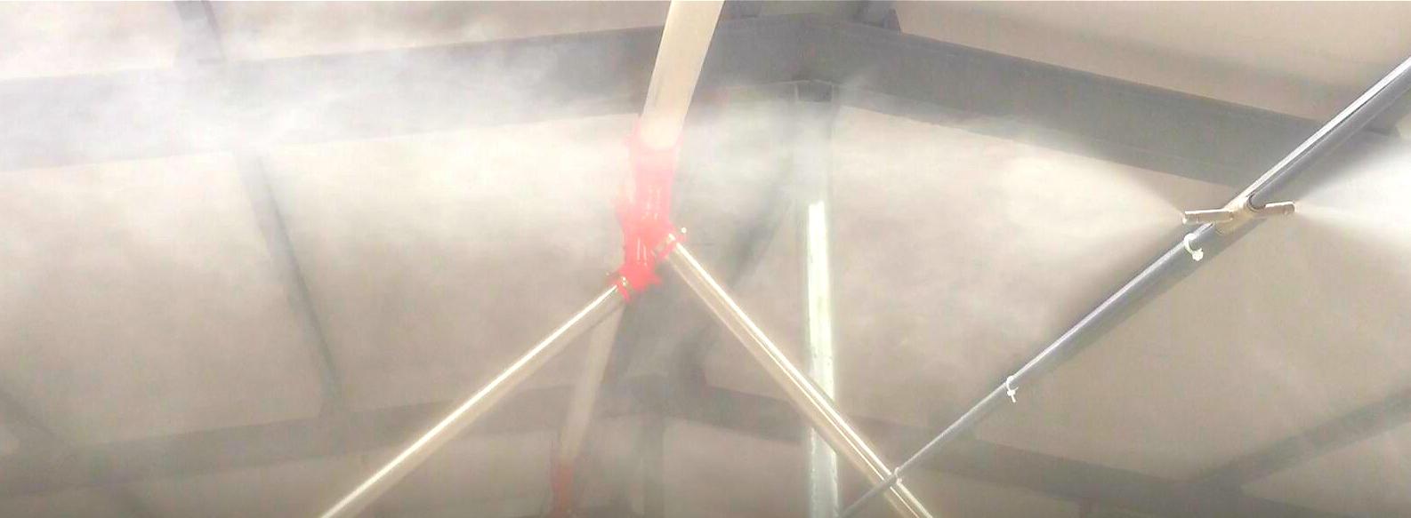 spray system for pig farm/automatic spray system