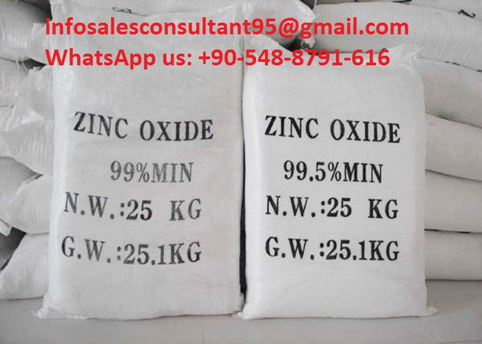 Industrail and food grade ZnO zinc oxide price