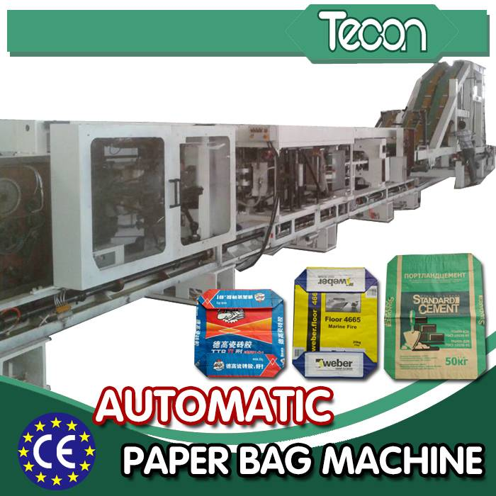 Automatic Multiwall Valve Cement Paper Bag Package Machinery