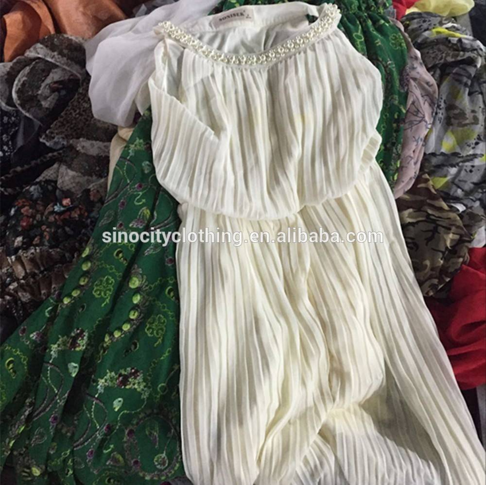 2016 fashion mixed used clothing bales second clothes