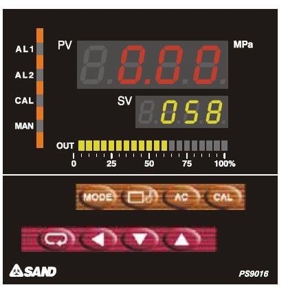 sand 9016 pressure meter