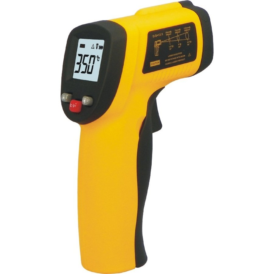 Non-Contact IR Infrared Thermometer Forehead Body Temperature Meter LCD Digital