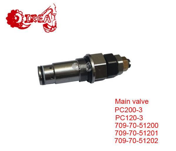 PC200-3 709 80 52900 Excavator Main Control Valve  709-70-51200 PC200-3 Main Service Valve Main Cont