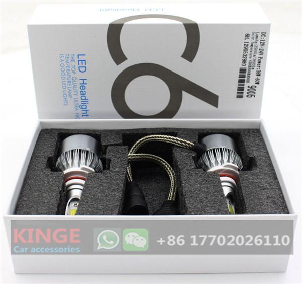 Super Bright C6 LED Headlight for Auto 36W H1 H3 H7 Car Led Headlamp