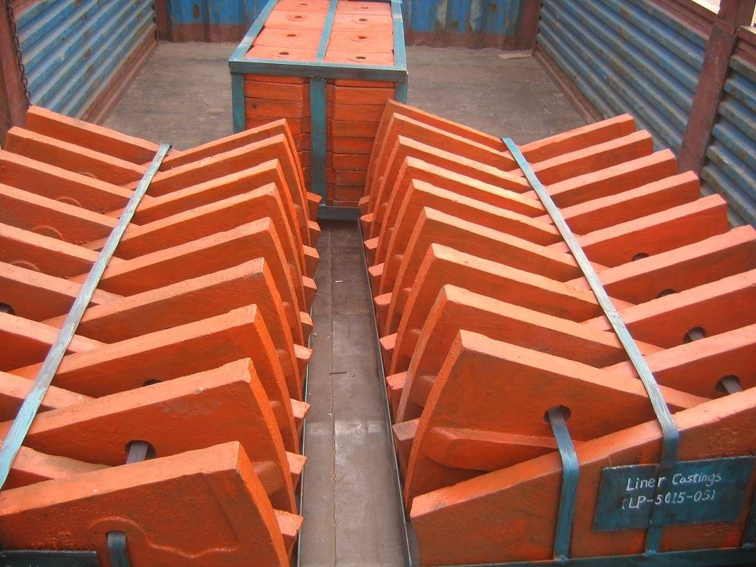 Liner of ball mill
