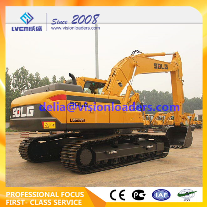 SDLG LG6225E Hydraulic Excavator E6225F Crawler for sale