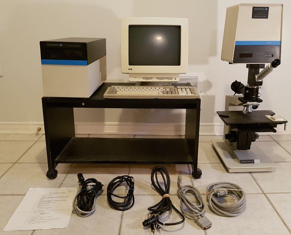Nanometrics NanoSpec AFT 210 Film Thickness System (Complete System)