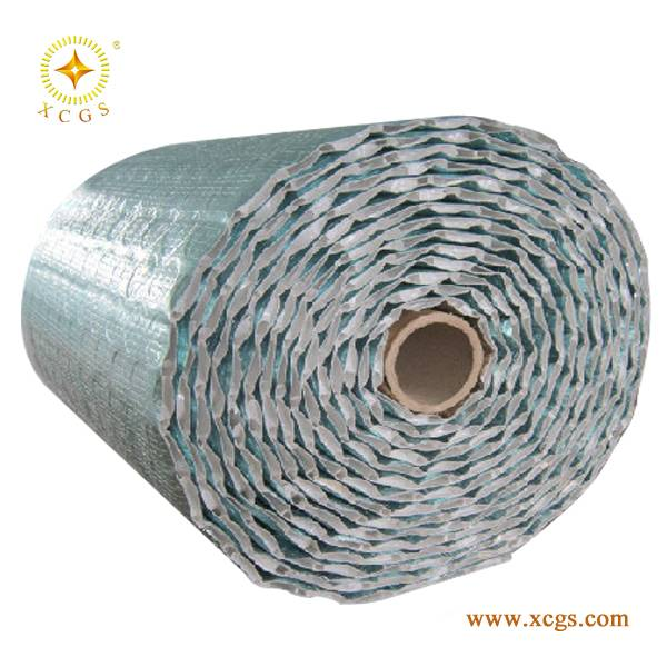 PE Bubble Alum Foil Heat Roof Insulator/Air Bubble Roof Insulation