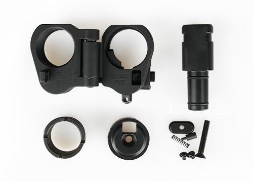 Tacticla hunting shooting gun parts AR folding stock adapter scope mount