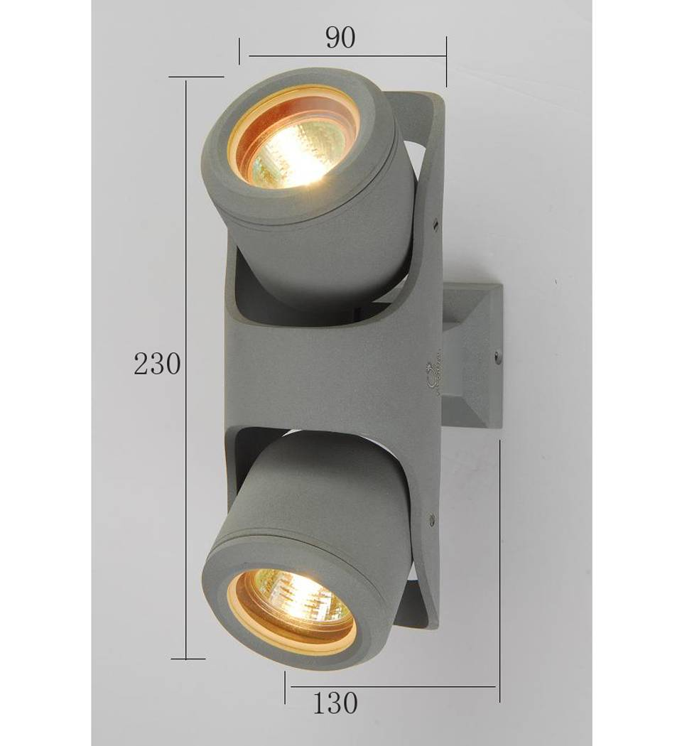 Outdoor wall lamp spot light with CE (BO-G71/2B)