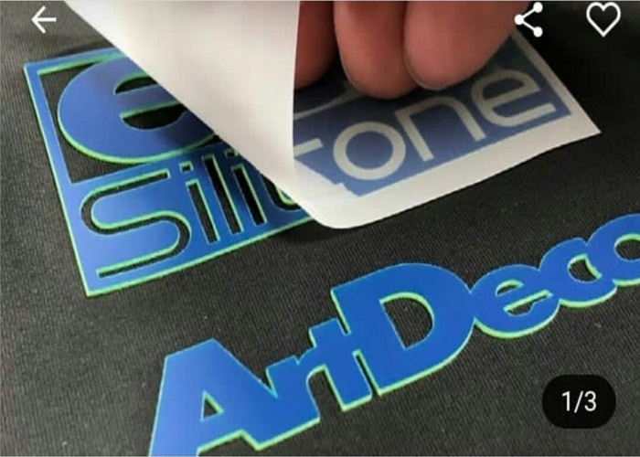 Lowest Prices Cold/Hot Peel Matte/Glossy Heat Transfer Pet Silicone Film for Silicone Label/Sticker