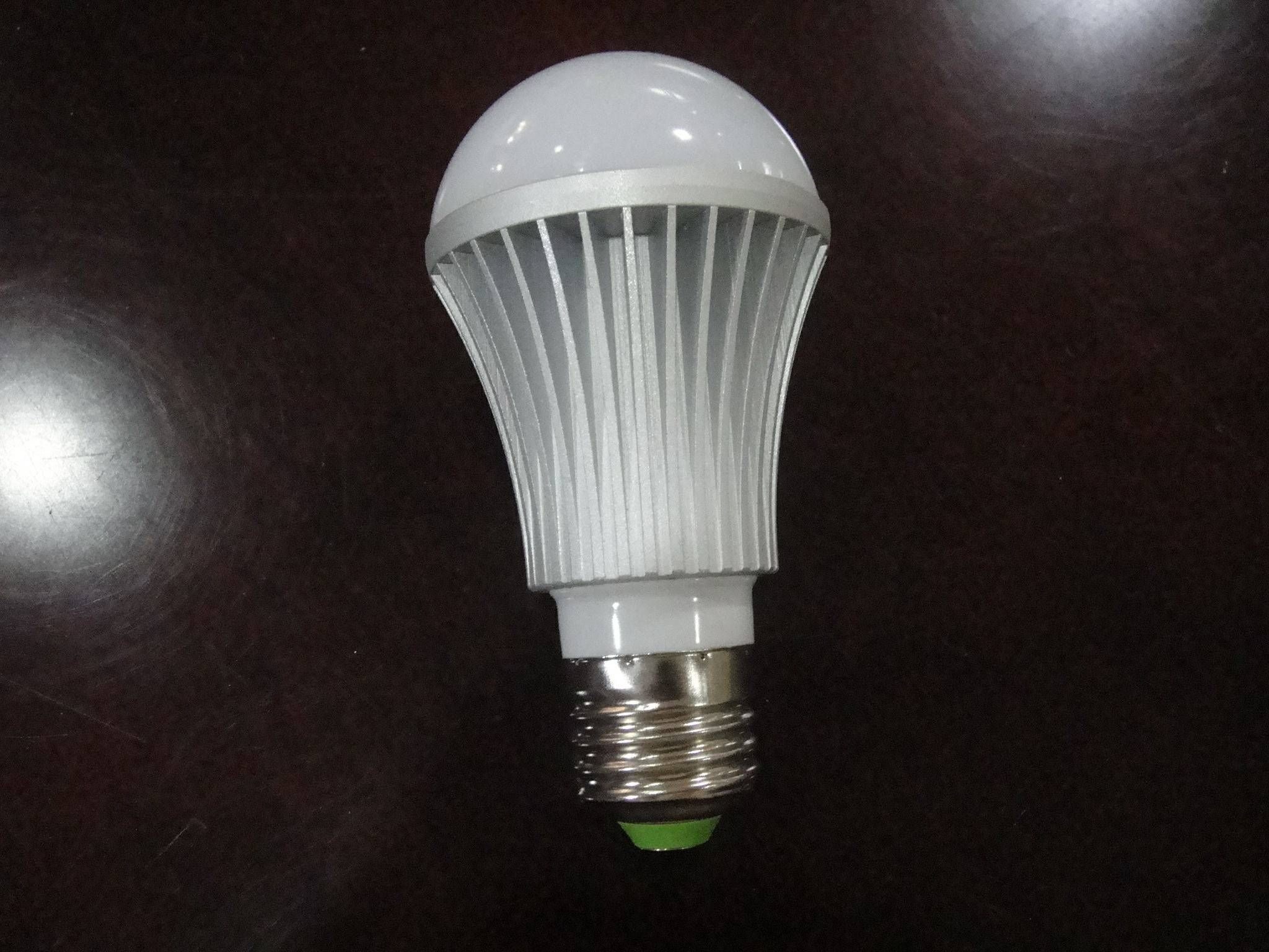 5w die-casting aluminum LED Bulbs no dimming E27 Epistar chips