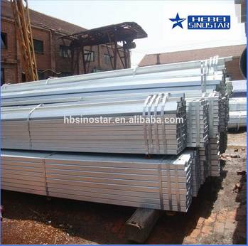 Pre-Galvanized Square Steel Pipe And Tubes