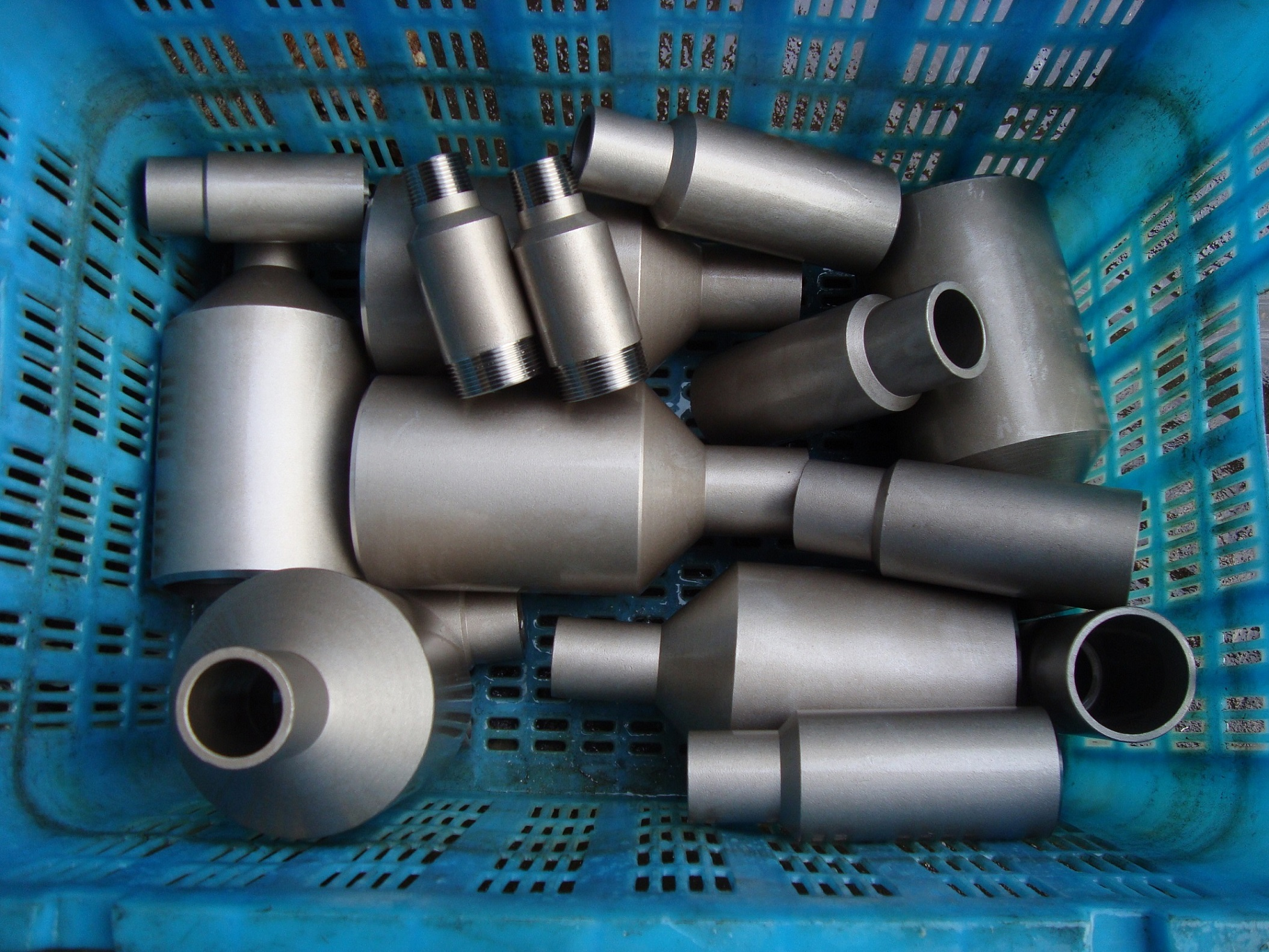 High Pressure Stainless Steel Pipe Fittings Swage Nipple