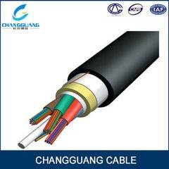All Dielectric Self-Support Ing Optical Fiber Cable (ADSS) Aramid Yarn 100m Span Single Mode Optic C