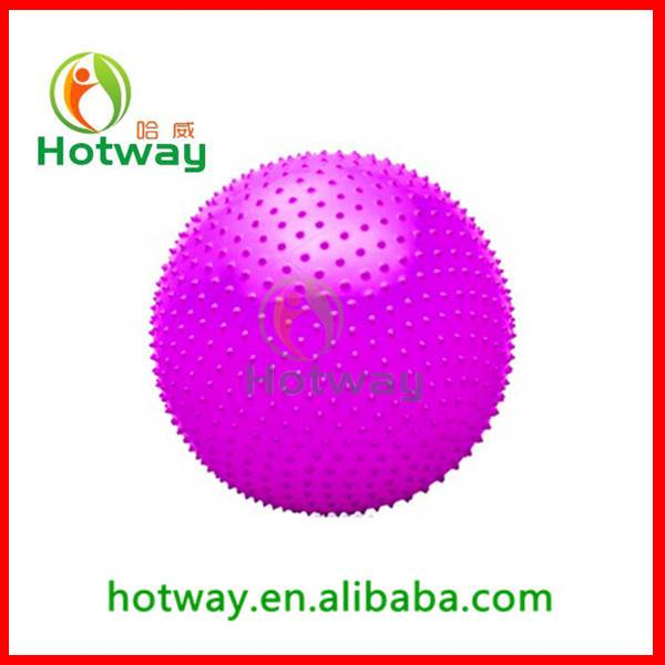 China Wholesale Yoga Ball Fitness Ball for Yoga Pilate Training