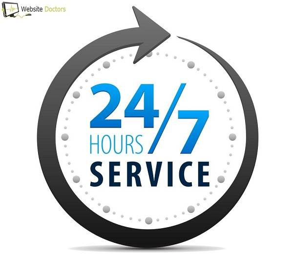 Website support 24*7 - Website Doctors