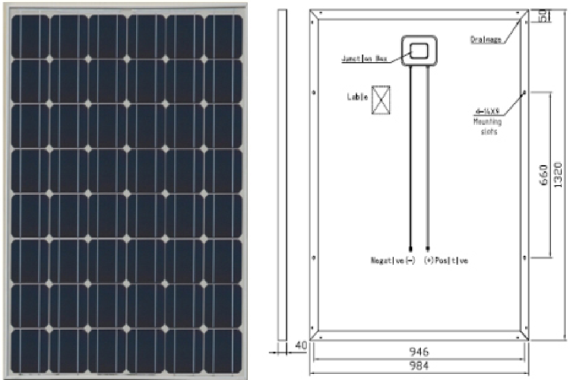 royalstar M48 distributed grid connected photovoltaic system