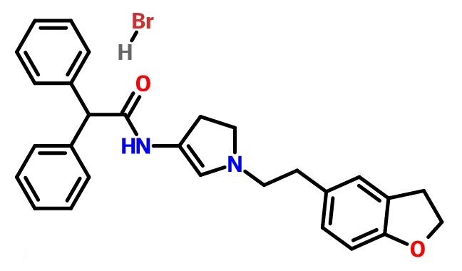 Darifenacin Hydrobromide/ Darifenacin HBr/ CAS NO. 133099-07-7