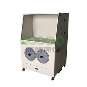 LB-DJ Portable grinding dust extractor workbench with downdraft flowrate for dust collection