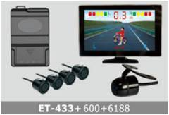 Video Parking System TFT LCD ET-433+600+6188